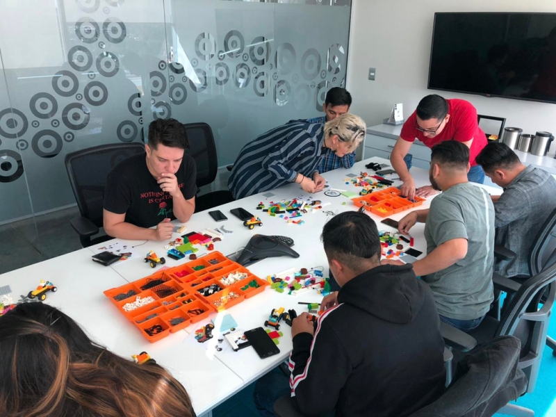 Taller TeamWork LEGO® SERIOUS PLAY