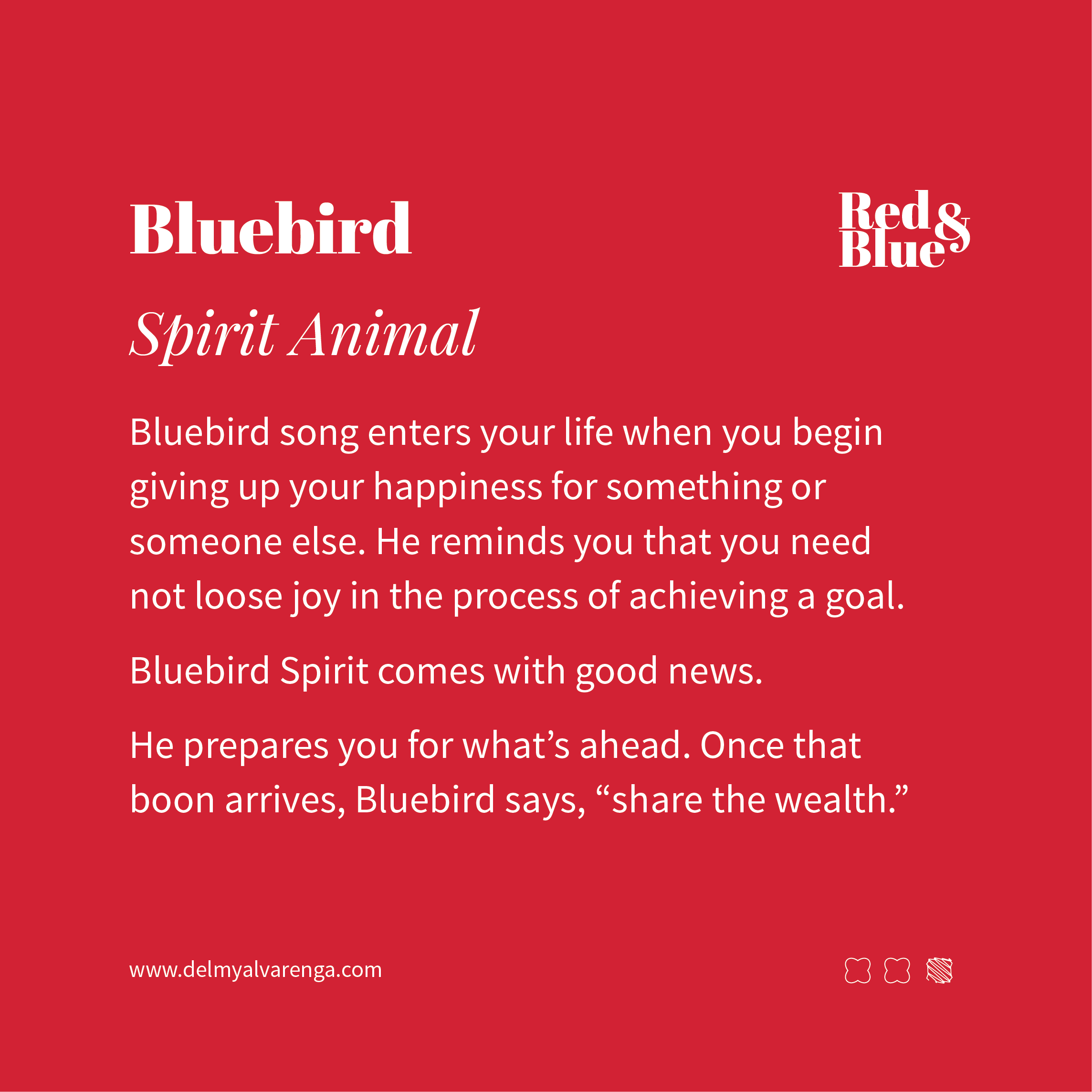 Bluebird Spirit Animal