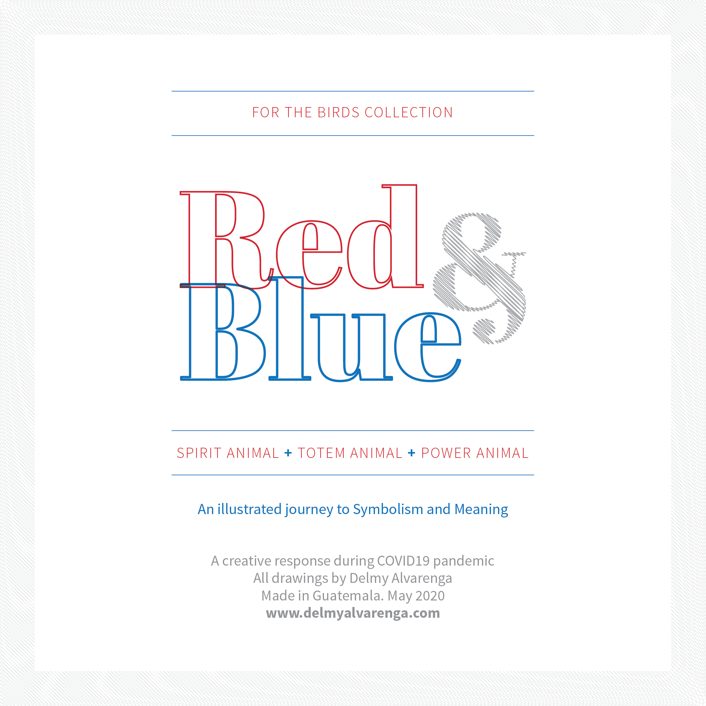 Red and Blue Project Cover