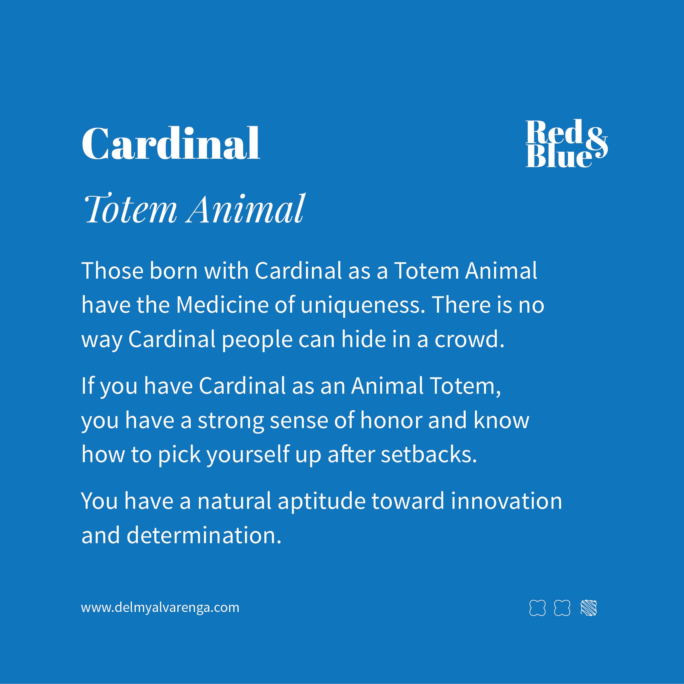 Cardinal Totem Animal