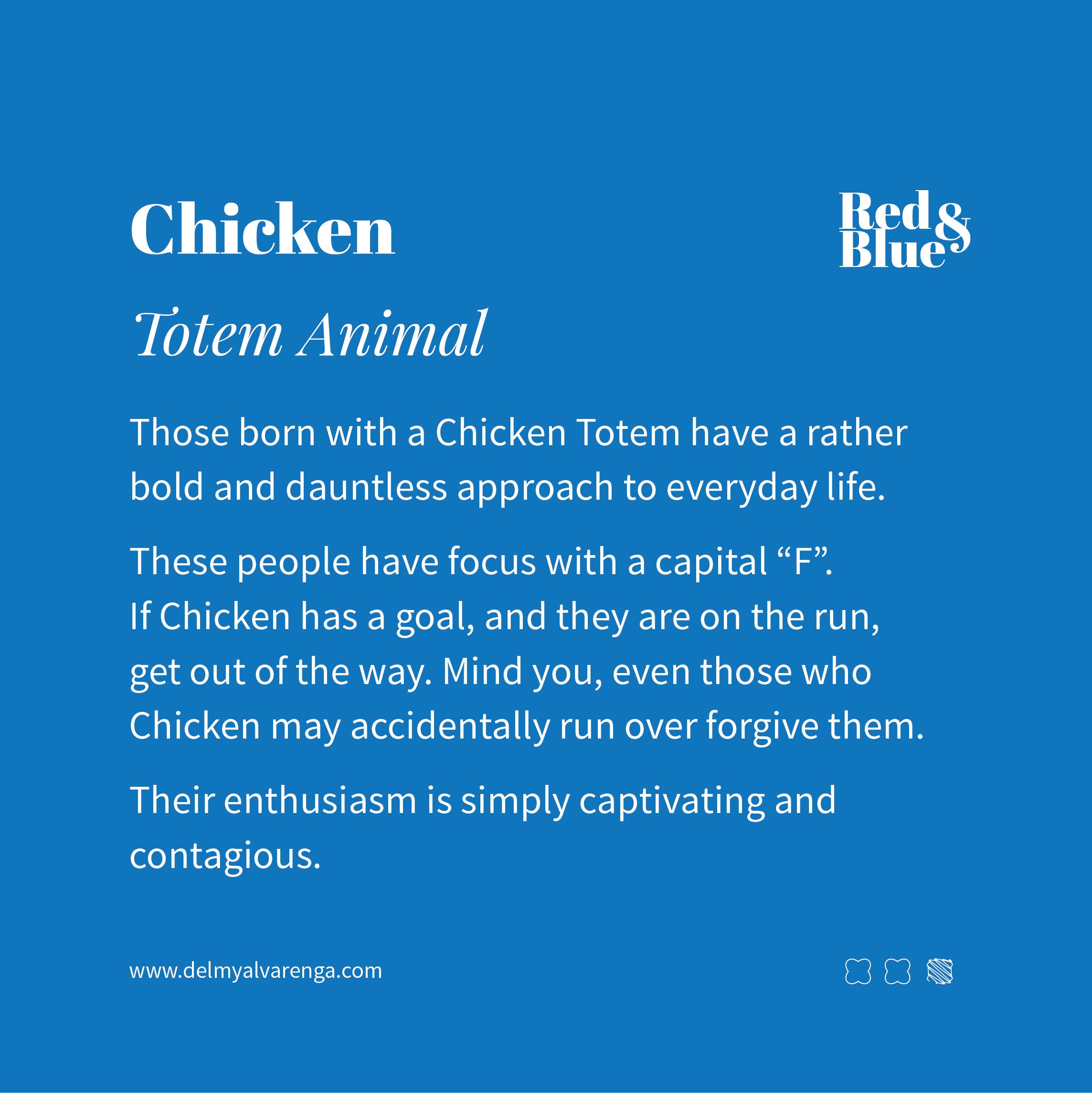 Chicken Totem Animal