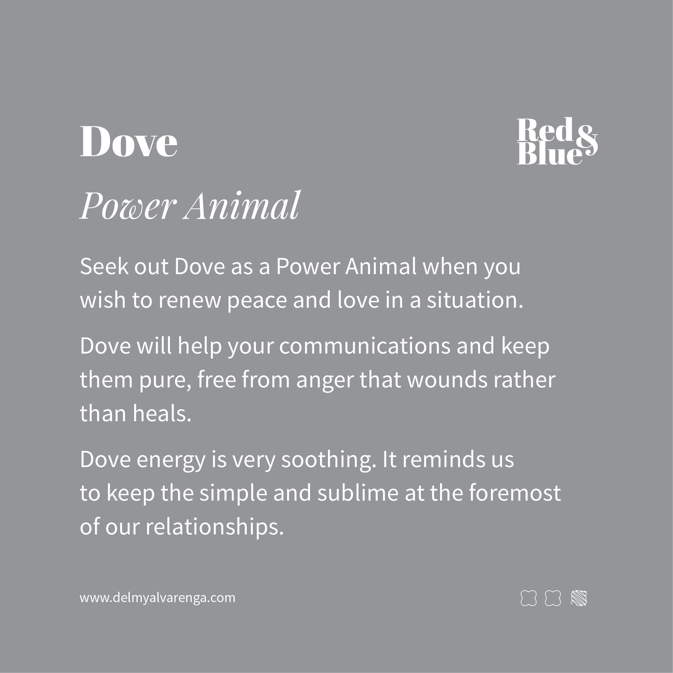 Dove Power Animal